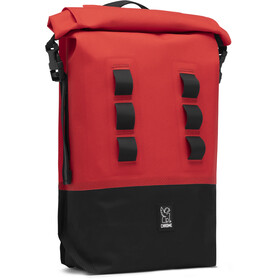 Chrome Urban EX Rolltop Rucksack 18l red/black